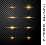 lights burst and sparkles star... | Shutterstock .eps vector #1660703479