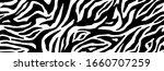 zebra fur    stripe skin ... | Shutterstock .eps vector #1660707259
