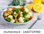 Bowl Of Fresh Vegetable Salad...