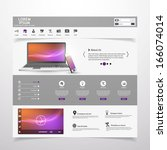 modern clean website template...