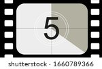 classic movie countdown frame... | Shutterstock .eps vector #1660789366