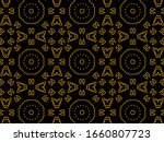 islamic ornament background... | Shutterstock . vector #1660807723