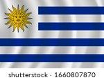 vector uruguay  flag  uruguay... | Shutterstock .eps vector #1660807870