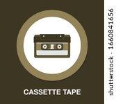Cassette Tape Icon. Audio...