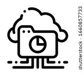 statistician cloud storage icon ... | Shutterstock .eps vector #1660857733