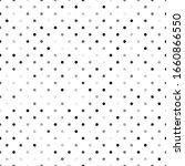 seamless polka dot pattern.... | Shutterstock .eps vector #1660866550