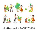 charity community plant a tree... | Shutterstock .eps vector #1660875466