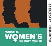 women's history month.... | Shutterstock .eps vector #1660878913