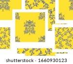 chinoiserie hand drawn vector... | Shutterstock .eps vector #1660930123