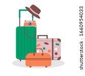 vector illustration of travel...   Shutterstock .eps vector #1660954033