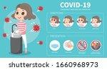 corona virus info graphic.  a... | Shutterstock .eps vector #1660968973