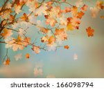 happy thanksgiving day... | Shutterstock .eps vector #166098794
