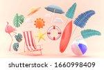 3d render object for banner...   Shutterstock . vector #1660998409
