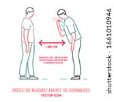 protective measure against the... | Shutterstock .eps vector #1661010946