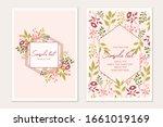 Botanical Card Template....