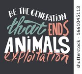be the generation that ends... | Shutterstock .eps vector #1661045113