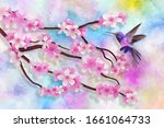Colorful Textural Background ...