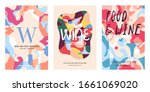 collection of wine poster...   Shutterstock .eps vector #1661069020