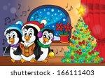Christmas Penguins Theme Image...