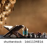 ramadan background with holy... | Shutterstock . vector #1661134816