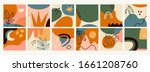 big set of twelve abstract... | Shutterstock .eps vector #1661208760