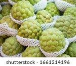 Organic Sugarapple Fruit In...