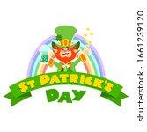 st. patrick's day. illustration ... | Shutterstock .eps vector #1661239120