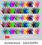 color schematic illustration of ...   Shutterstock .eps vector #166126094