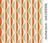 retro seamless pattern from the ... | Shutterstock .eps vector #1661303506