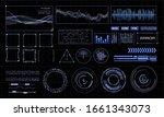 hud futuristic interface....