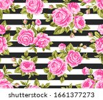 Vector Colorful Seamless Floral ...