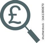 pound icon. money icon. vector... | Shutterstock .eps vector #1661380870