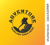 adventure logo template for... | Shutterstock .eps vector #1661420989