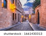 Rhodes  Greece. Avenue Of The...