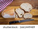 Freshly Baked Italian Bread ...