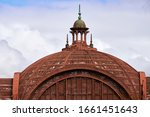 An Old And Rusty Dome Of The...