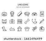pets icons. veterinary symbols...