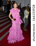 Small photo of Linda Evangelista, in YSL, at AngloMania Tradition and Transgression in British Fashion Opening Gala, The Metropolitan Museum of Art, New York, May 01, 2006