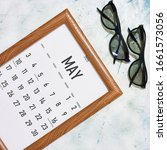 May 2020 Monthly Calendar...