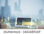 technology theme drawing and... | Shutterstock . vector #1661685169