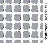 geometric ornamental vector... | Shutterstock .eps vector #1661701540