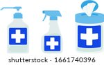 vector illustrations of hand... | Shutterstock .eps vector #1661740396