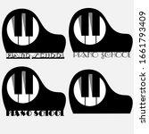 Art Black Minimal Piano Music...