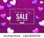 Women's Day Sale Poster Design...