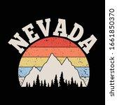Nevada. Mountains Peaks ...