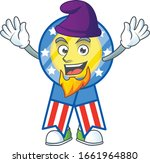 cute usa medal mascot icon... | Shutterstock .eps vector #1661964880