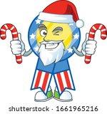 cartoon mascot style of usa... | Shutterstock .eps vector #1661965216