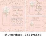 Pink Wedding Invitation Card...