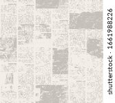 newspaper texture paper with... | Shutterstock .eps vector #1661988226