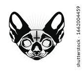 Occult Cat. Occult Cat's Head...
